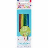 Sparkler Candles Assort. 18 CT