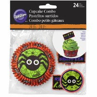 Spider Cupcake Combo 24CT