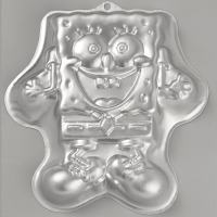 Spongebob Excited Cake Pan