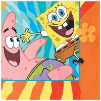 Spongebob Lunch Napkins 16 CT