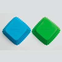 Square Silicone Bake Cups 12 Count