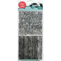 Stamp Wood & Script