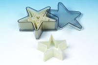 Star 5 Point 5PC Cutter Set
