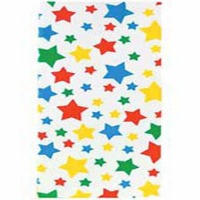 Stars Party Bags w/Ties 20 CT