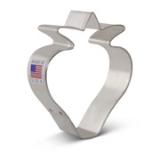 """Strawberry 1"""" Cookie Cutter"""