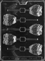 Strawberry Lolly Mold