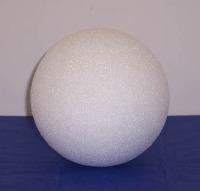 "Styrofoam Ball White 3"""