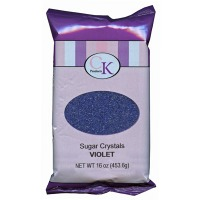 Sugar Crystals 16 OZ Violet