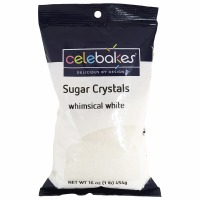 Sugar Crystals 16 OZ White