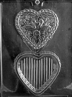 Swan Heart Pour Box Mold
