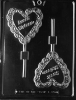 Sweet Sixteen Lolly Mold