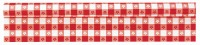 "TableRoll 40""X100' Red Gingham"