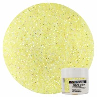 Baby Yellow Techno Glitter