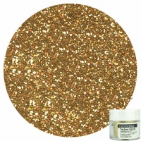 Celebakes Soft Gold Techno Glitter