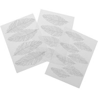 Texture Mat Feather Set/3