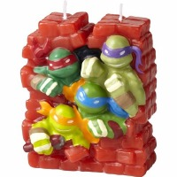 TMNT Birthday Candle