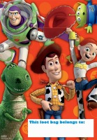 Toy Story Loot Bags 8 CT