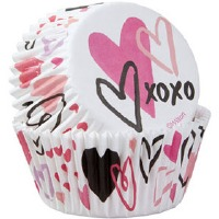 Traditional VDay Baking Cup