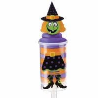 Treat Pop Decoration  Kit Witch 12 CT