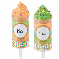 Treat Pop Labels Multi Color