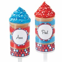 Treat Pop Labels Patriotic