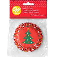 Tree & Ornament Baking Cups