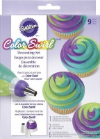Color Swirl Deco Set 9 PC