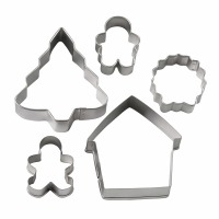 Vintage Cookie Cutter Set 5 PC