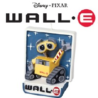 Wall-E Birthday Candle