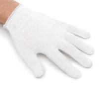 White Cotton Gloves 2 CT
