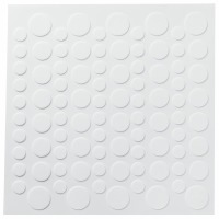 White DecoShapes® Dots