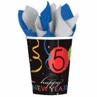 Wild New Years 9 OZ Cups