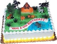 Wild Rain Forest Cake Kit