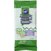 Wilton Green Fondant 4.4 OZ