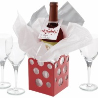 Wine Gift Kit Hol Cheer 1CT