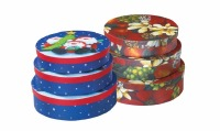 Xmas Cookie Boxes (Set of 3)