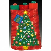 Xmas Tree Giant Gift Sack