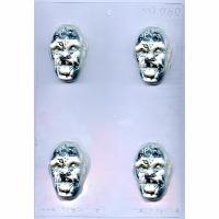 Zombie Head Mold (4)