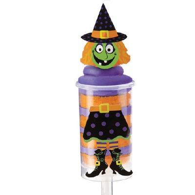 Treat Pop Decoration  Kit Witch 12 CT