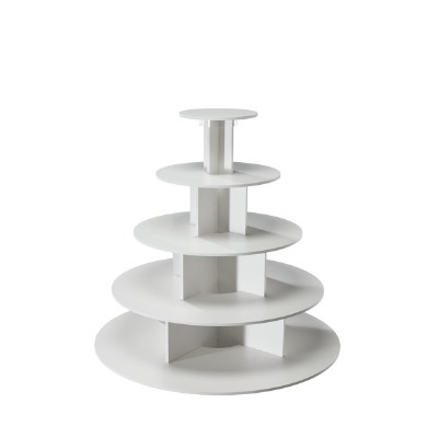 White 5-Tier Cupcake Stand