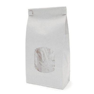 White Cookie Bag 5X2X9 25 CT