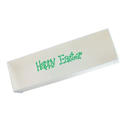 """Happy Easter"" Box Clear Lid"