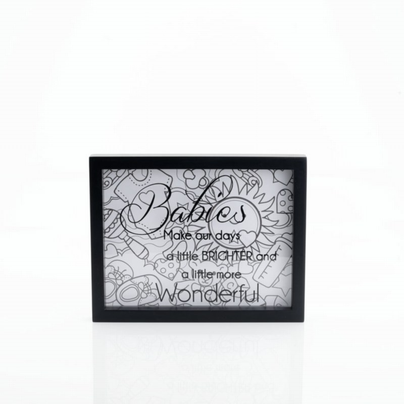 Colour Therapy Wall Art Plaque