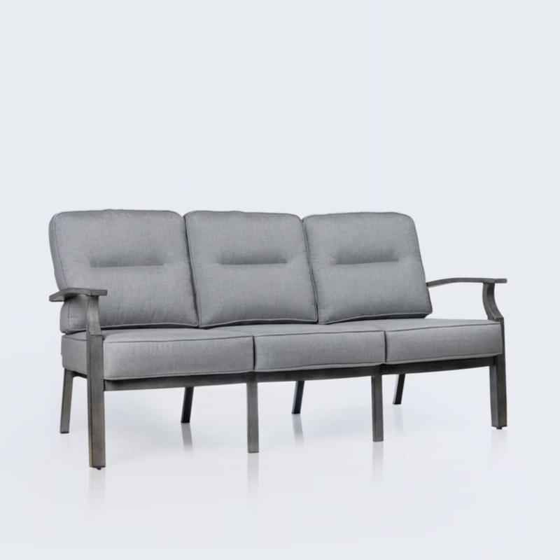 Belvedere Aluminum Sofa