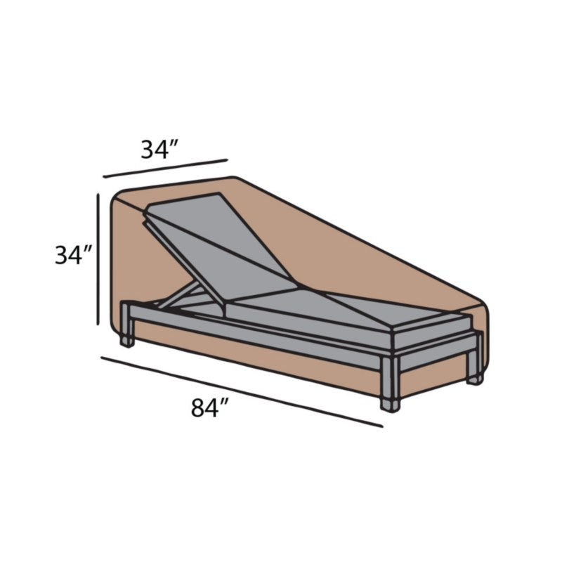 Chaise Lounge Cover-Large