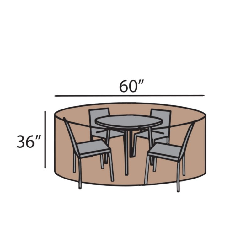 """60"""" Round Dining Set Cover"""