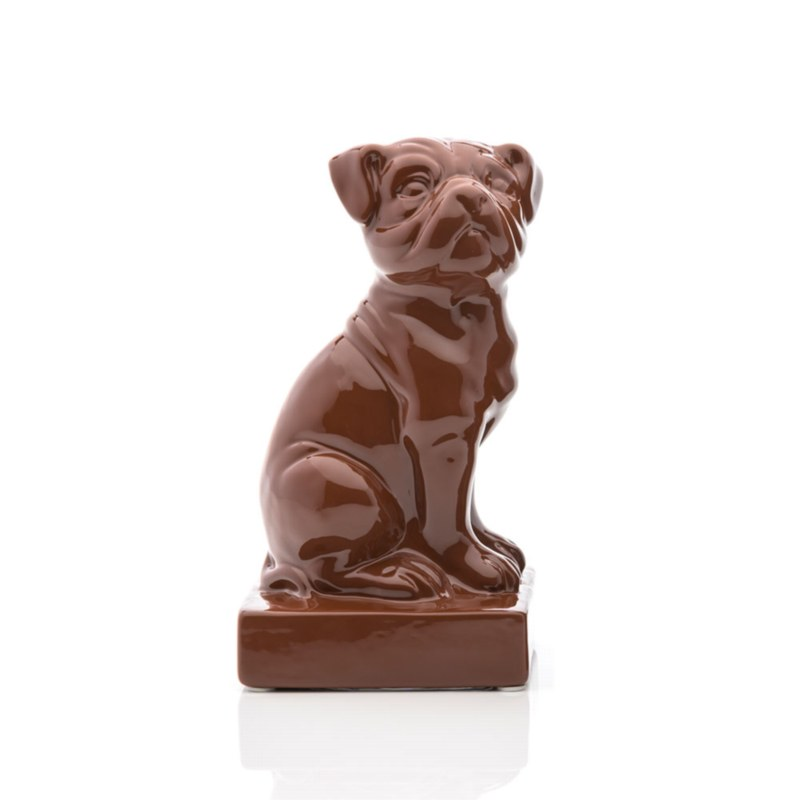 Ceramic Dog Bookend