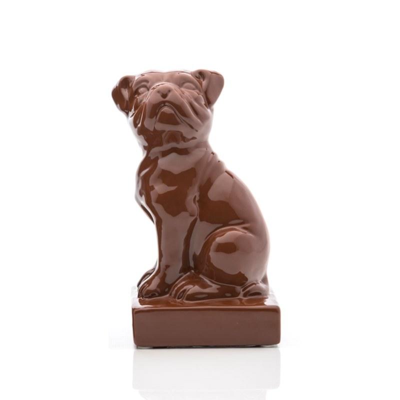 Ceramic Dog Bookend