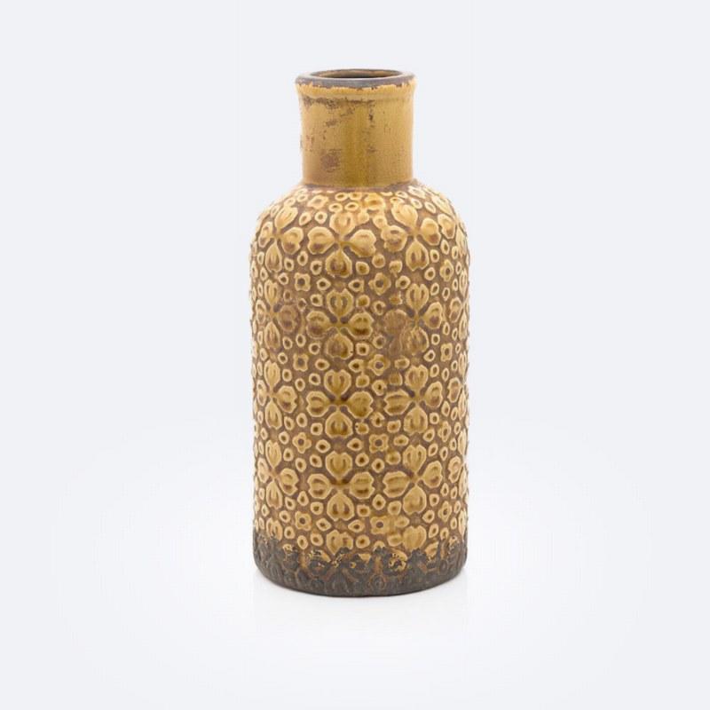 Ceramic Mustard Vase