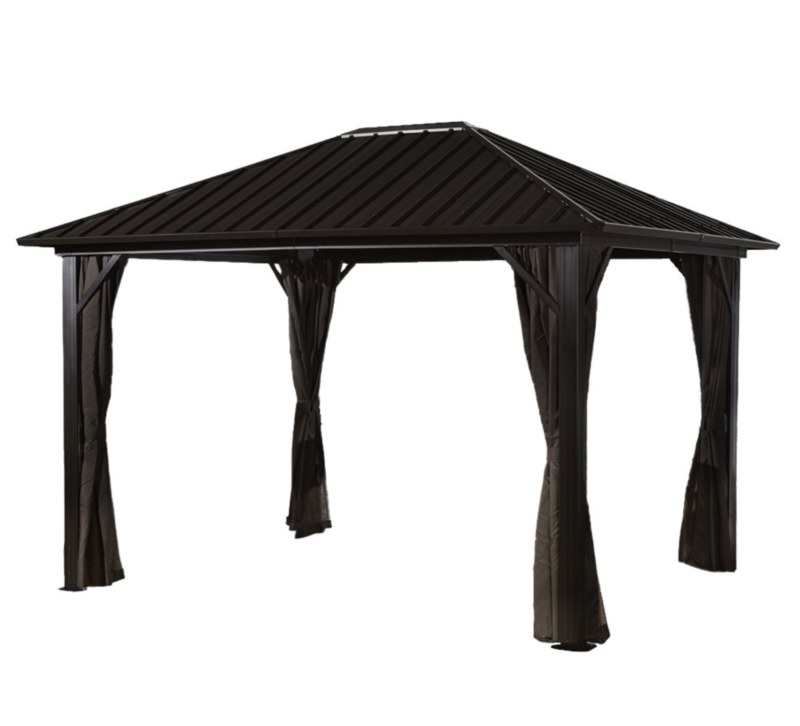 10'x12' Metal Hard Top Gazebo